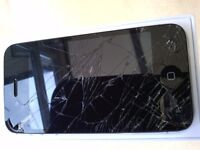I PHONE 4s.....working......but has a broken screen.....£25