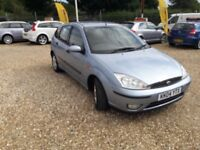 2004 04 Ford Focus 1.6 Low Miles 12 Months Mot