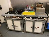 Commercial 8 burner cooker