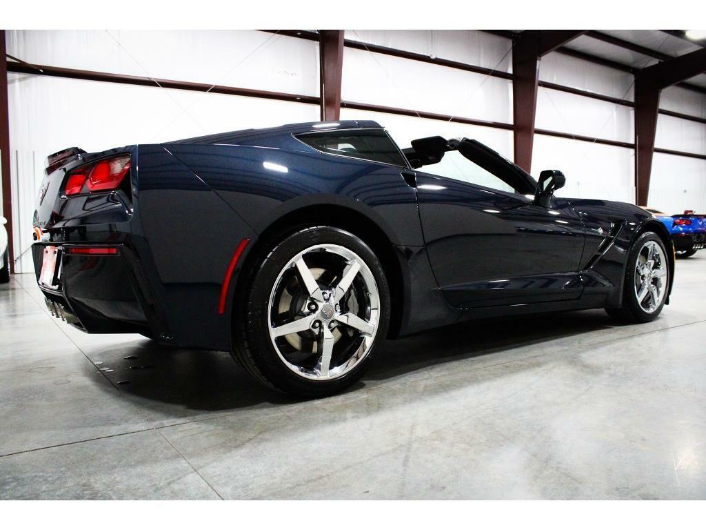 2014 Blue Chevrolet Corvette Stingray 2LT   C7 Corvette Photo 5