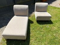 Chaise Longue and matching chair *****now sold*****