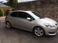 Toyota Auris SD180 , 2231cc, service history, 2008, Full Years MOT, Keyless Push button Start