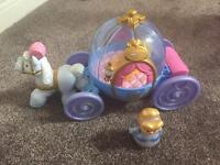 Little people Cinderella horse and carriage