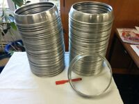 Plate rings, Stainless Steel 8 inch