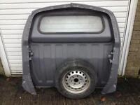 Toyota Hiace Parts Bulkhead And A Spare Tyre