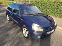 2003 Renault Clio 1.2 Dynamique - 12 Month Mot - Hpi Clear - Great Runner - Bargain 206 corsa punto
