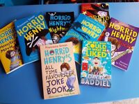 8 KIDS BOOKS - £4 HORRID HENRY AND THE BOY WHO COULD DO WHAT HE LIKED - GREAT CONDITION