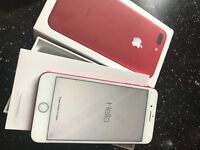 Iphone 7 plus red like new unlocked 128gb