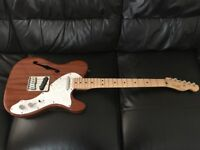 Squier Classic Vibe Thinline Telecaster with great genuine Fender upgrades