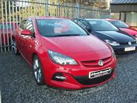 VAUXHALL ASTRA 1.6 CDTi 16V ecoFLEX Limited Edition 5dr [Leather] (red) 2014