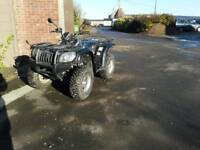 Quad bike quadzilla 500e 4x4 road registered