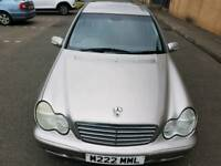 1 owner from new Mercedes C220 Cdi classic se automatic .service history.