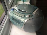 Panasonic RX-DX1 Stereo CD Radio Cassette Tape Portable