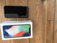 Unlocked IPhone X 64G Bytes