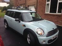 Mini clubman one D in excellent condition