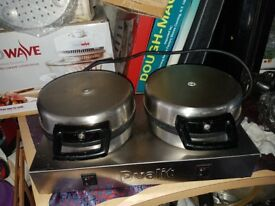 COMMERCIAL DUALIT WAFFLE MAKER £85 (07846109717)