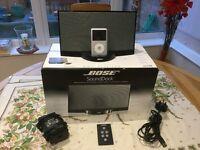 Bose Sound-dock Speaker for iPod, Plus iPod Classic 64GB