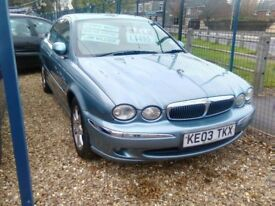 2003 x type jaguar only 73.000 miles 2498 cc petrol automatic very very tidy car inside and out
