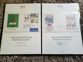 1966 world cup fdc x 2