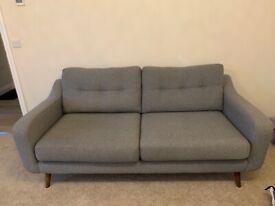Barker & Stonehouse Myers Large sofa Grey