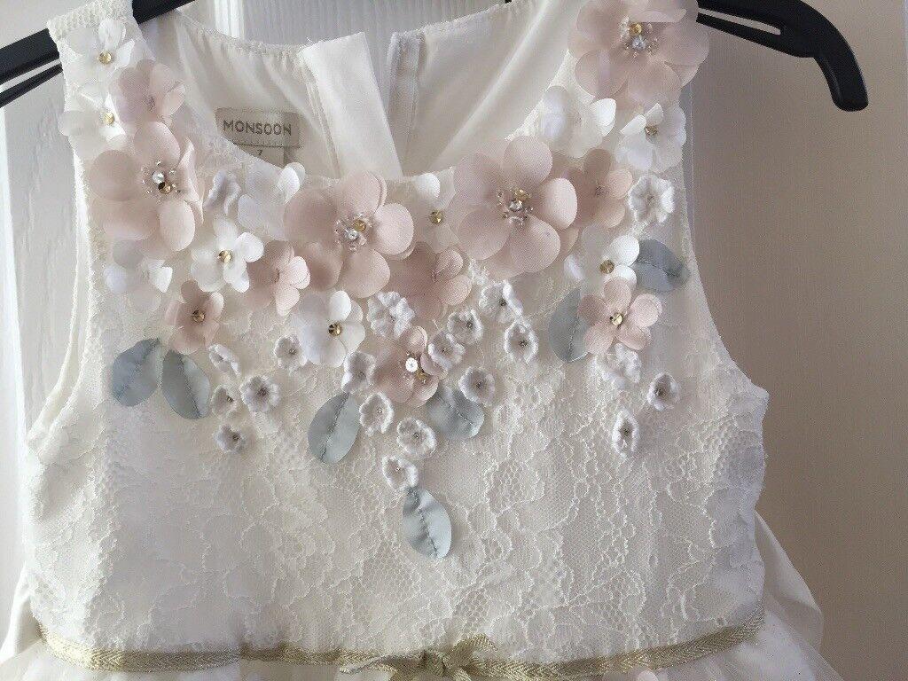 Monsoon Age 7 Bridesmaids Dress