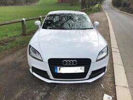 **price reduced**Glacier white Audi TT tfsi 2.0 black edition '12 s-line