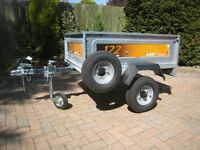 new and unused Erde 122 classic trailer,flat cover jockey wheel,spare wheel.