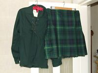 HUNTING STEWART KILT AND ACCESORIES