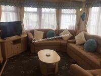 6 Berth Luxury Caravan For Hire Rent Rental In Towyn North Wales nr Rhyl Abergele Prestatyn