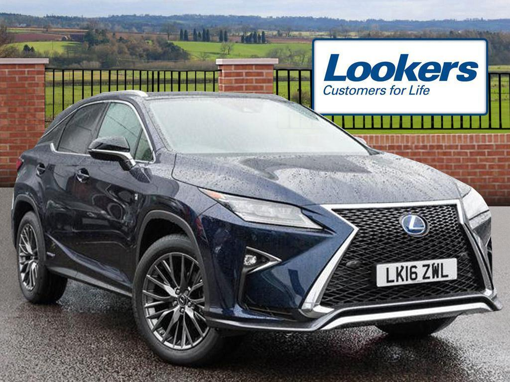 lexus rx 450h f sport blue 2016 03 02 in hatfield. Black Bedroom Furniture Sets. Home Design Ideas