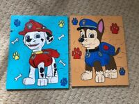 Paw Patrol wooden jigsaw toy Marshall Chase