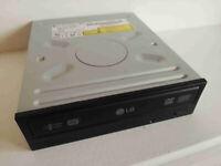 DVD RW Writer Drive LG Black GSA-4167B IDE