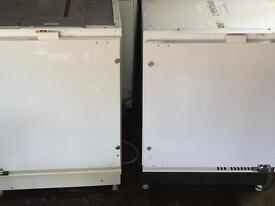Whirlpool integrated fridge and freezer