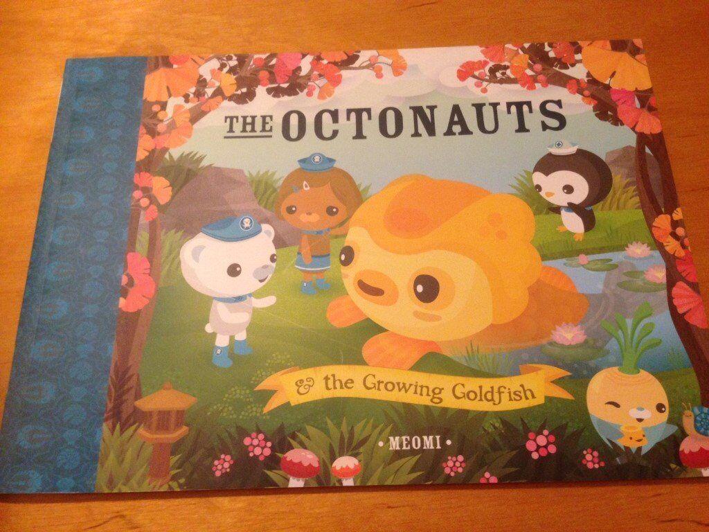 Octonaut Books by Meomi