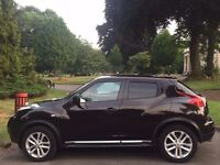 NISSAN JUKE AUTOMATIC, 62 REG, 79K MILES, MINT, MOT, HPI CLEAR, CAMERA, SAT NAV, DELIVERY AVAILABLE