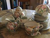 Japanese bone china tea service