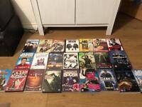 Job lot of DVDs & VHS