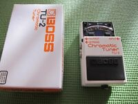 Boss TU-2 tuner pedal, boxed, good condition