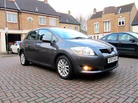 TOYOTA AURIS 1.6 TR 5 DOOR HATCHBACK FSH HPI CLEAR EXCELLENT CONDITION