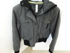 LADIES BOMBER STYLE JACKET BY CRAFTED