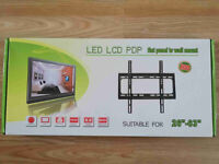 TV Bracket Slim Wall Mount LCD LED up to 63""