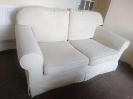 Super comfy sofa + 2 setties
