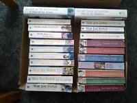 80+books -various authors