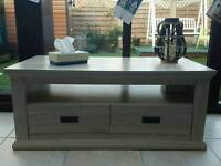 Tv unit / coffee table with drawers storage