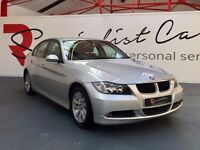 BMW 320D SE [STUNNING EXAMPLE / LEATHER / 6-SPEED / PARK SENSORS / FULL SERVICE HISTO / SUPERB SPEC]
