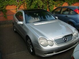 2002 Mercedes-benz C Class 230K Coupe - AUTOMATIC - £750 ono