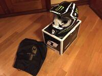 Kombat Monster Energy Motocross Helmet Size XS - Child's Size. £40