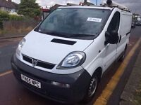 2006 VAUXHALL VIVARO 2900 DI SWB. 1 FORMER OWNER. 53521 MILES. HISTORY. BRILLIANT CONDITION.NO VAT