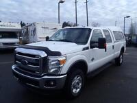 2012 Ford F-350 Sd XLT Crew Cab Long Bed 4WD Diesel with Canopy