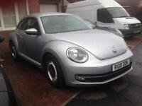 VW beetle 2.0 tdi design 2013